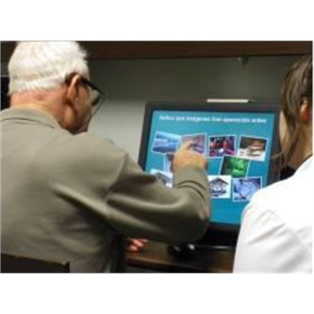 GeronTec - Application of Information and Communication Technologies to the development of recreational and therapeutic activities for improving the quality of life of elderly people with Alzheimer's and other dementias.
